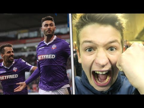 SHEFFIELD UNITED vs BOLTON WANDERERS *VLOG* - FIRST AWAY WIN IN 999 DAYS... GARY MADINE!