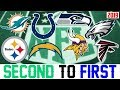 NFL Teams That Can Go From 2nd To 1st In 2019 (NFL Predictions 2019)