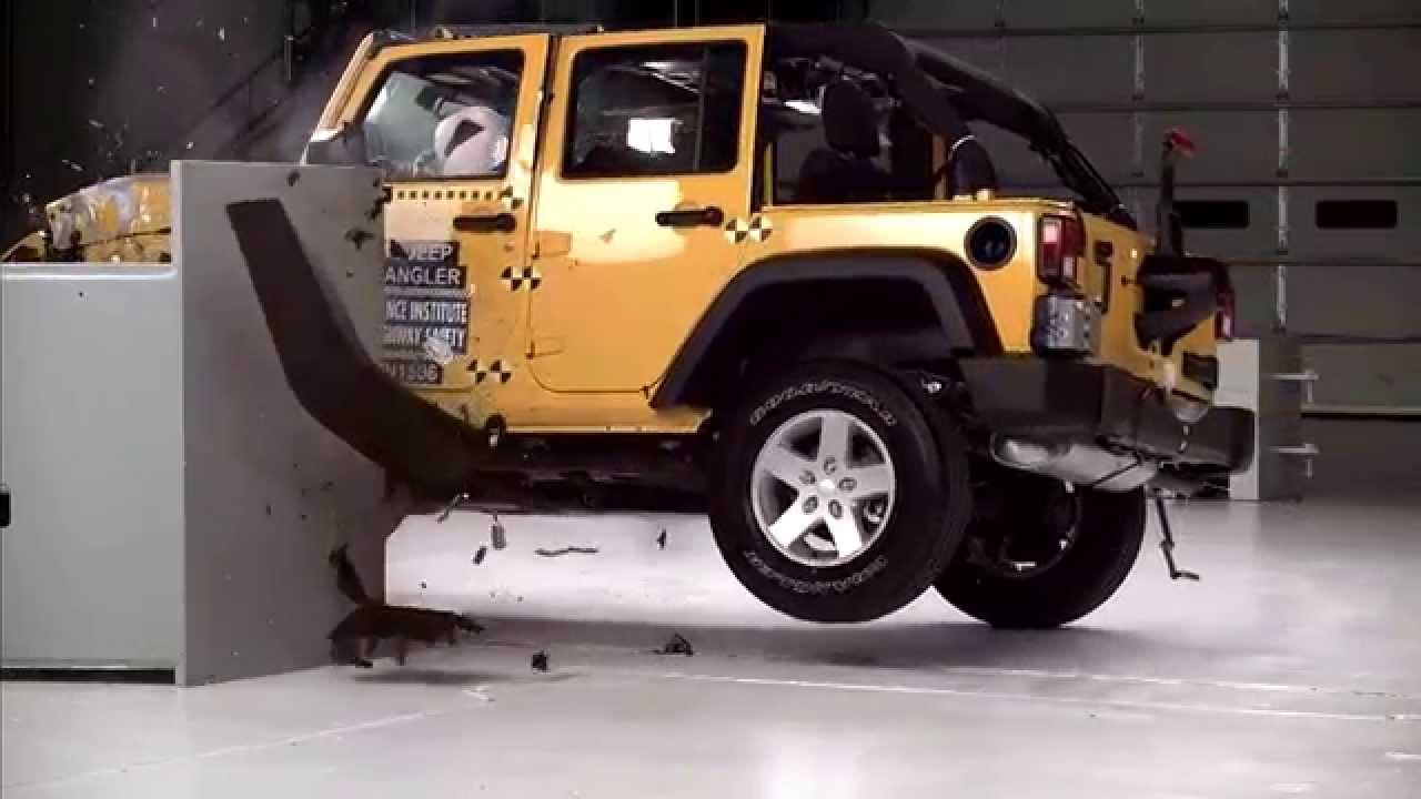 Iihs - 2015 Jeep Wrangler 4-door