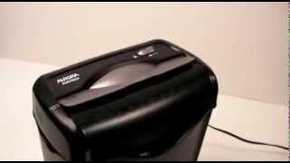 AU670XA - The Shredder Constantly Runs