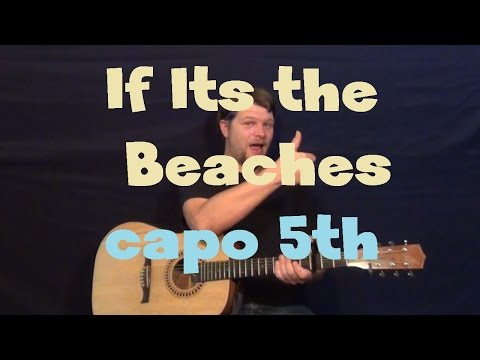 If Its The Beaches (The Avett Brothers) Easy Guitar Lesson How to Play Tutorial