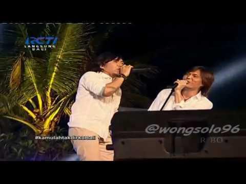 Once & Ari Lasso Dewa 19 Lagu SEPARUH NAFAS | KamulahTakdirkuBali LIVE