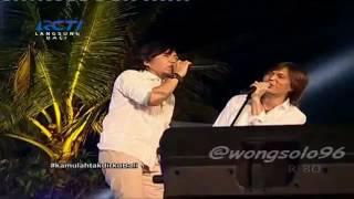 Download Mp3 Once & Ari Lasso Dewa 19 Lagu Separuh Nafas | Kamulahtakdirkubali Live
