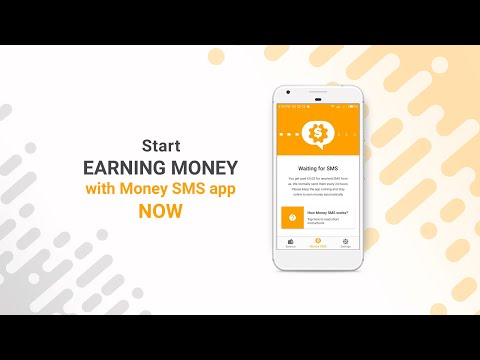 How to make money online with Money SMS app?