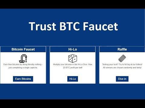 TRUST BTC FAUCET (WITHDRAWALAUDIOSCREEN)