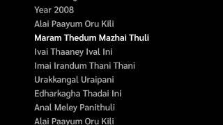 Annul Maelae Panithuli Lyrics | Vaaranam Aayiram  | Suriya, Sameera Reddy, Divya | Harris Jayaraj