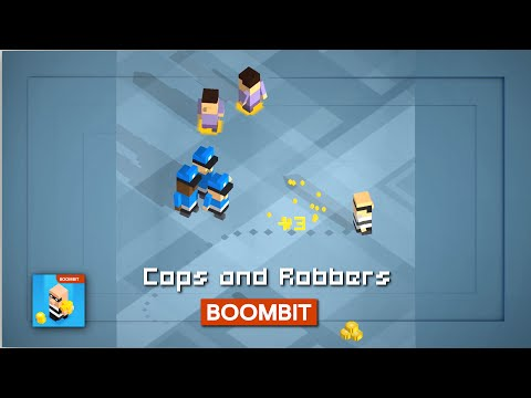 COPS AND ROBBERS by BoomBit Games | iOS App (iPhone, iPad) | Android Video Gameplay‬