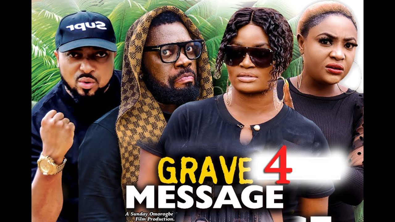 GRAVE MESSAGE SEASON 4 (New Hit) CHIZZY ALICHI 2021 Latest Nigerian Nollywood Movie