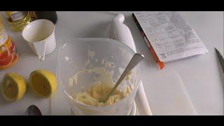 Майонез домашний(Майонез домашний 1 яйцо 0,5ч.л горчицы 0,5ч.л соли, 1ч.л сахара перец по вкусу 1ст.л лимонного сока 250 мл растител..., 2014-08-23T20:35:17.000Z)