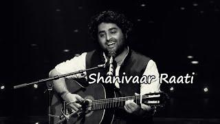 Shanivaar raati | Main Tera Hero | Arijit Singh, Shalmali Kholgade | Varun Dhawan, Ileana