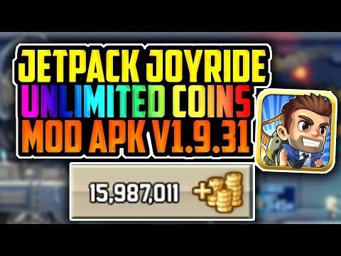   Jetpack Joyride Hack v1.9.31   Unlimited Coins   *OFFLINE ONLY*