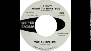 Soundhound I Didnt Mean To Hurt You By The Shirelles