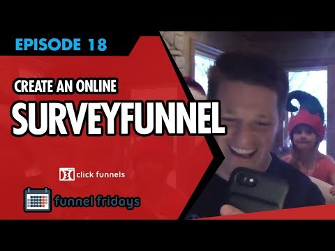 Christmas Special Survey Funnel Wizard - Funnel Fridays - Episode #18