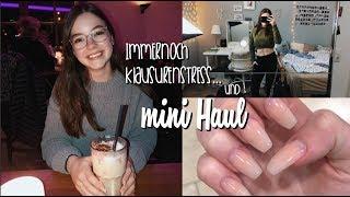Mini Haul, Klausurenstress, Zimmer aufräumen und Alltag | Hannah Theresa
