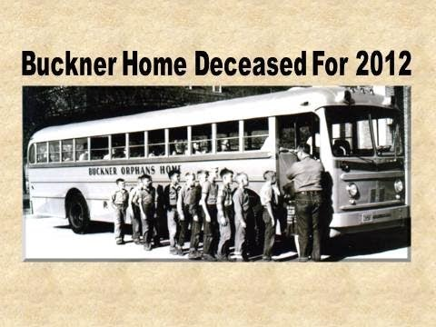 Buckner orphans home deceased for 2012 youtube for Buckner home