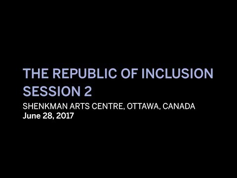 Republic of Inclusion : Afternoon Session