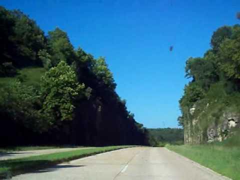 Abandoned Route Famous Hooker CutMissouri Four Lane - Route 66 youtube