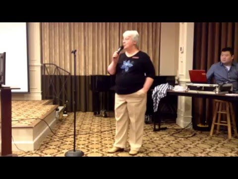 """Manor Karaoke,""""Just a Closer Walk with Thee"""",Carolyn Mellinger,4/21/2016"""