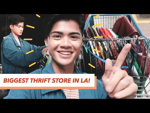 LA'S BIGGEST THRIFT STORE | Come Thrift With Me 2019 | I Spent Too Much