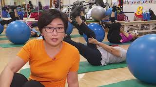 竹脚妇幼医院骨质疏松运动疗程 初显成效望推广社区