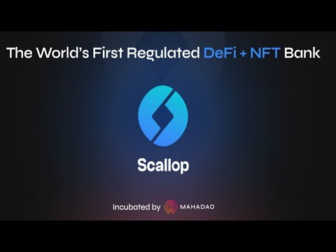 UPCOMING 100X ALTCOIN - SCALLOP FIRST FCA-REGULATED DEFI BANK