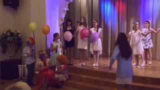 Выпускной младших классов 4 А-Б-В Школа №77 Санкт Петербург 2015