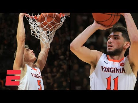 Virginia edges out Virginia Tech behind Kyle Guy's 23 points | College Basketball Highlights