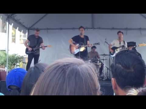 """Balladino"" - Atlas Genius LIVE at The Taste of South Lake - Pasadena, CA 10/8/2016"