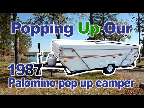 Popping up our 1987 palomino pop up youtube popping up our 1987 palomino pop up sciox Gallery