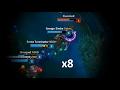 LoL Best Moments #154 Level 1, 8 jumps quadrakill (League of Legends)