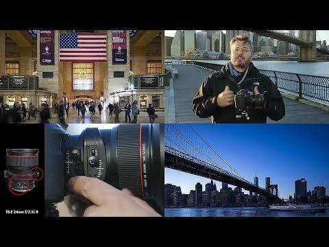 Tilt-Shift Lens Basics With Vincent Laforet -- Explore Tilt Shift Lenses In New York City At Night