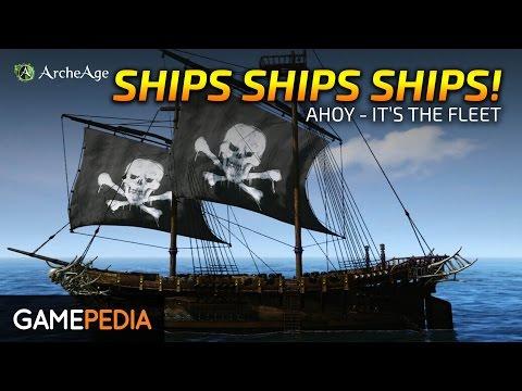 ArcheAge - Ships, Ships, Ships!