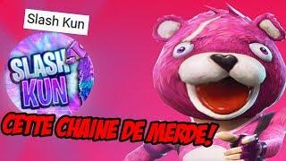 SLASH KUN, CETTE CHAINE DE MERDE!