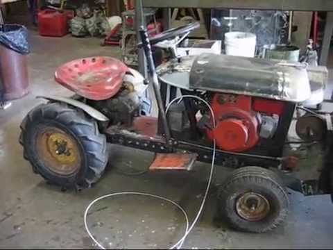 Homemade Mini Tractor Progect Youtube