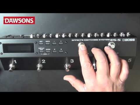 BOSS ES5 Switching System Review