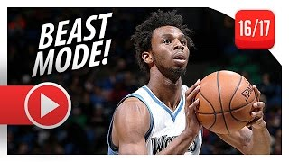 Andrew Wiggins Full Highlights vs Lakers (2016.11.13) - 47 Pts, CRAZY!