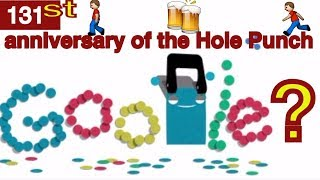 Hole Puncher  Google Doodle (14 November) History and Facts || 131st anniversary of the hole puncher