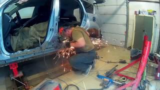 Mitsubishi Outlander ремонт кзова в Нижнем Новгороде