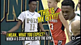 """THIS IS MY CITY!!"" Peyton Watson Destroys 'Em On OFFENSE & DEFENSE! Drops 31 Points & NASTY BLOCKS!"