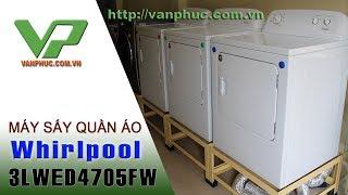 Máy sấy quần áo Whirlpool 3LWD4705FW-15kg dùng cho tiệm giặt là