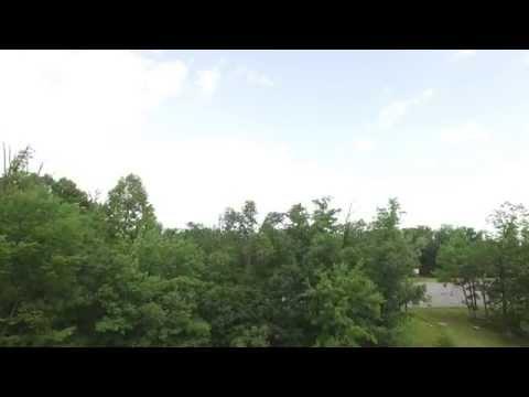 DJI Inspire 1 Drone at Bishop Walsh School Cumberland Maryland 4k