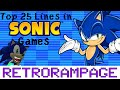 Top 25 Lines in Sonic Games! - RetroRampage