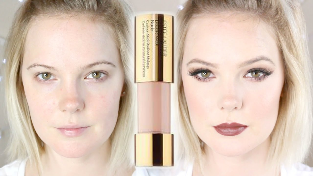 Estee Lauder Double Wear Cushion Stick Foundation Review And Demo
