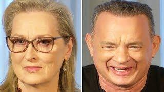 The Post Press Conference - Meryl Streep, Tom Hanks & Steven Spielberg