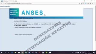 Negativa De Anses