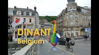 Dinant, a favourite destination in Belgium