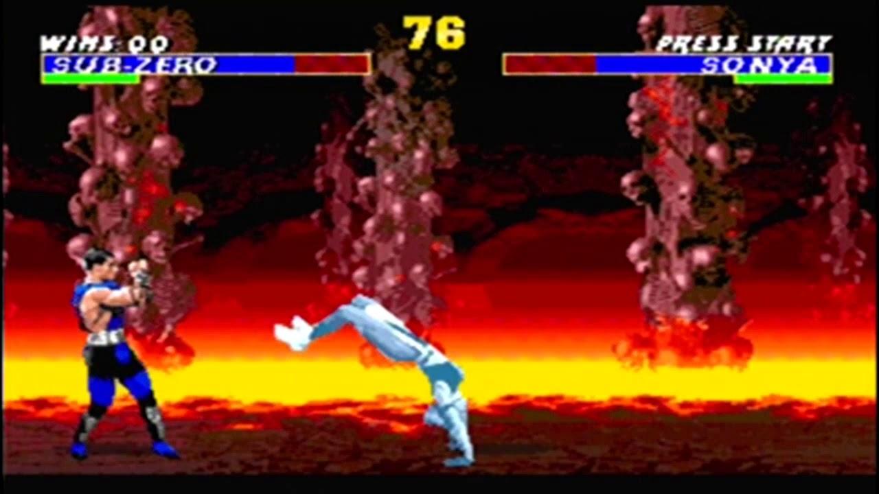 Jogatina de Ultimate Mortal Kombat 3 Trilogy (HACK) - Mega