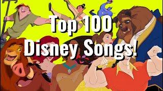 Top 100 Disney Songs (1937-2020)