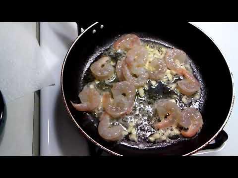 Garden rotini shrimp salad
