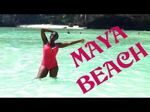 The most Beautiful Beach! Maya Bay, Phi Phi Island. Phuket-Thailand.